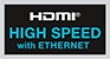 HDMI 4K logo High Speed
